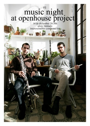 Music Night #1 : Openhouse Project : concert : barcelona