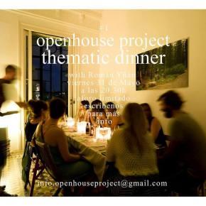 31st May : thematic dinner with RománYñán