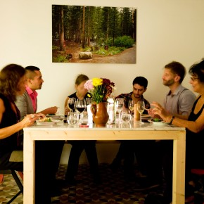 the second dinner for the presentation of lionel brossi garavaglia's thesis
