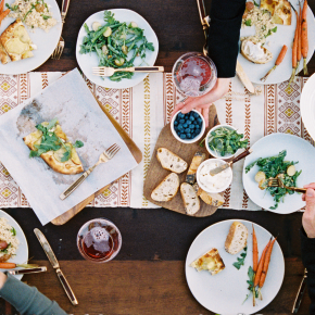 Kinfolk dinner at galleria h2o with the Parmentiers : 9thNovember
