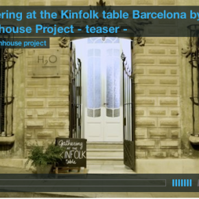 gathering at the kinfolk table : teaservideo