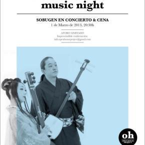 Music Night #2 : Openhouse Project : concert : Sobugen :barcelona