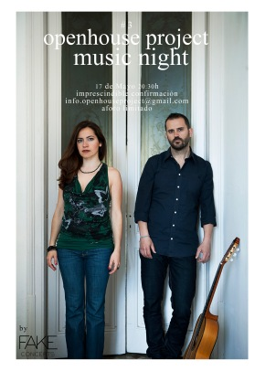 Music Night #3 : Openhouse Project : concert : Anna Alàs i Jové and Eugeni Muriel : barcelona