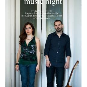 Music Night #3 : Openhouse Project : concert : Anna Alàs i Jové and Eugeni Muriel :barcelona