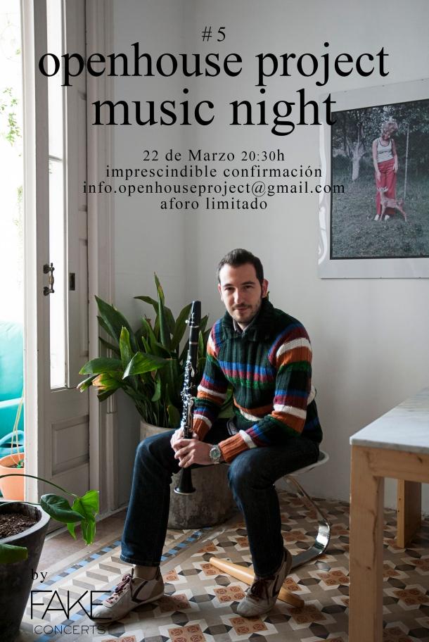 Music Night  5Victor de la Rosa Fake Concerts openhouse project barcelona