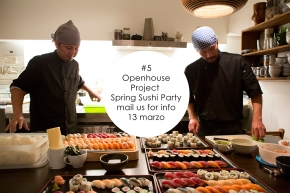 #5 : Spring Sushi Party